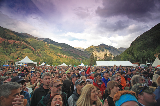 Telluride Blues and Brews. Photo by Ryan Bonneau.