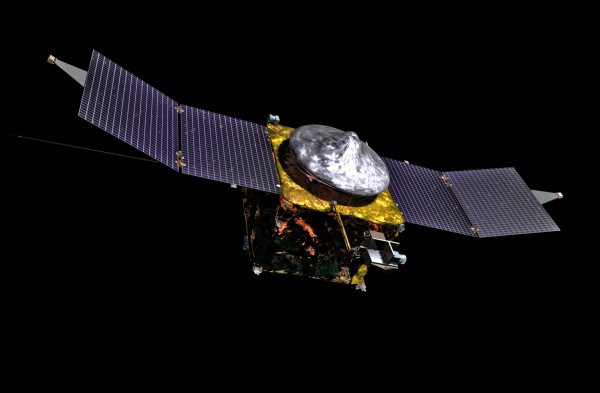 MAVEN spacecraft