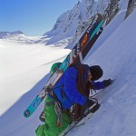 Mike Leake backcountry skier