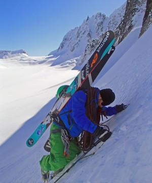 Mike Leake backcountry skier