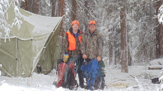 Brothers at Elk Camp